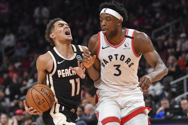 Toronto Raptors vs. Atlanta Hawks - 1/28/20 NBA Pick, Odds, and Prediction
