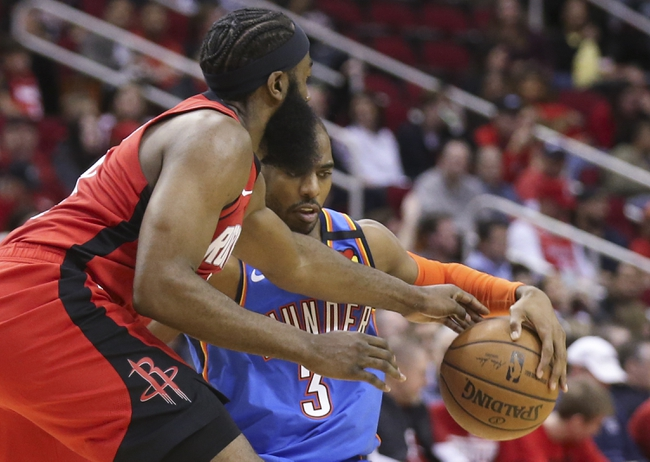 Houston Rockets vs. Oklahoma City Thunder - 8/18/20 NBA Pick, Odds, and Prediction