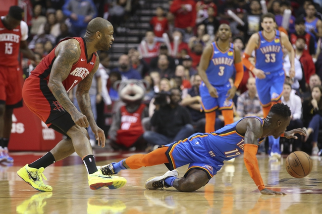 Houston Rockets vs. Oklahoma City Thunder - 5/19/20 NBA2K NBA Sim Pick, Odds, and Prediction