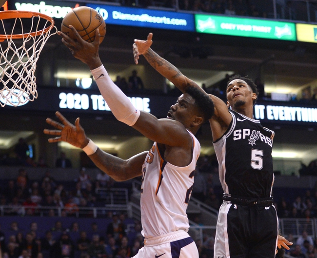 San Antonio Spurs vs. Phoenix Suns - 1/24/20 NBA Pick, Odds & Prediction