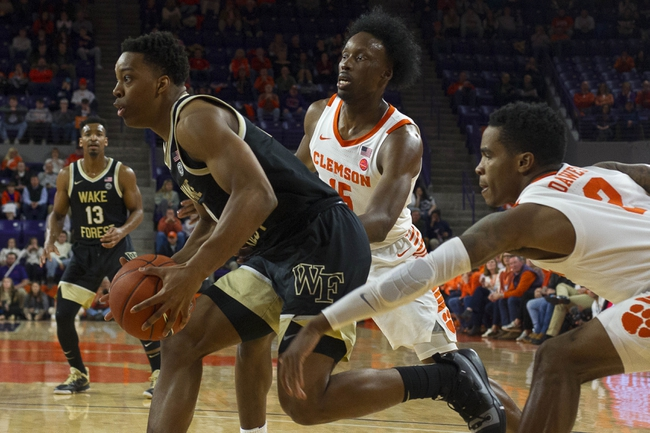 Wake Forest vs. Clemson - 2/1/20 College Basketball Pick, Odds, and Prediction