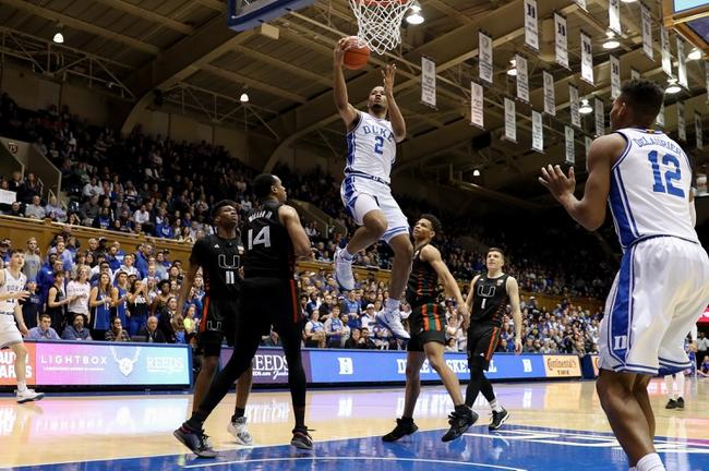 Duke vs. Pittsburgh - 1/28/20 College Basketball Pick, Odds, and Prediction