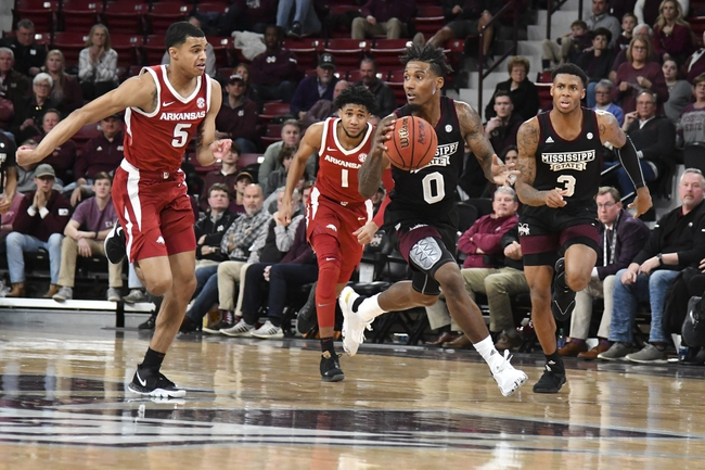 Arkansas vs. Mississippi State - 2/15/20 College Basketball Pick, Odds, and Prediction