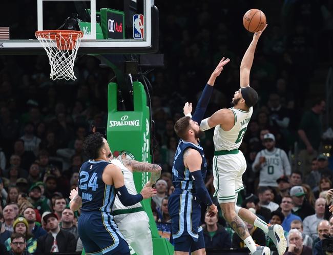 Memphis Grizzlies vs. Boston Celtics - 8/11/20 NBA Pick, Odds, and Prediction