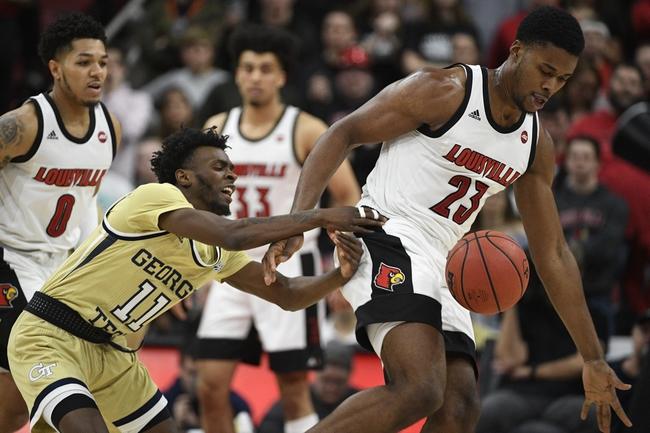 Georgia Tech vs. Louisville - 2/12/20 College Basketball Pick, Odds, and Prediction