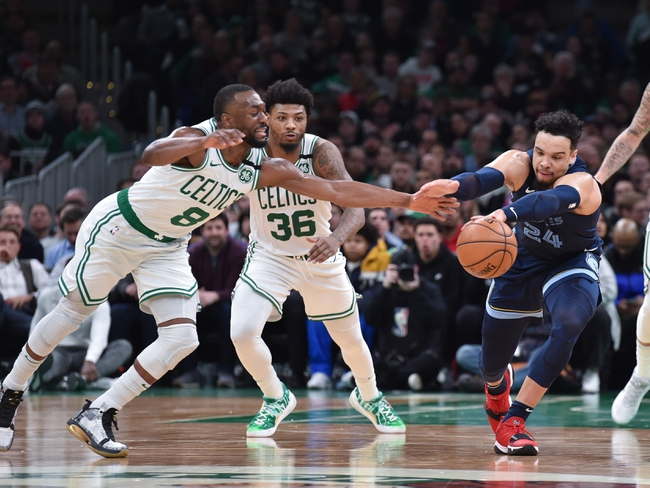 Boston Celtics at Memphis Grizzlies - 8/11/20 NBA Picks and Prediction