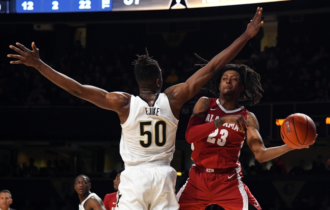 Alabama vs. Vanderbilt - 3/3/20 College Basketball Pick, Odds, and Prediction