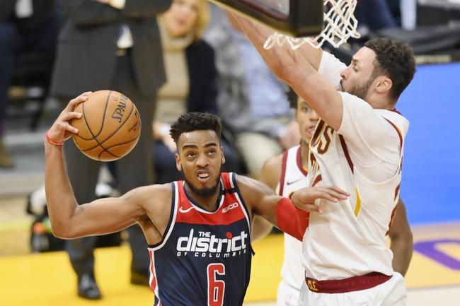 Washington Wizards vs. Cleveland Cavaliers - 2/21/20 Nba Pick, Odds & Prediction