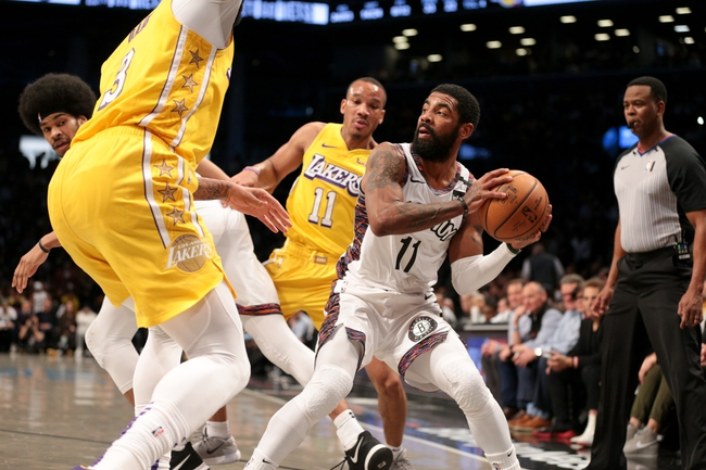 Los Angeles Lakers vs. Brooklyn Nets - 3/10/20 NBA Pick, Odds, and Prediction