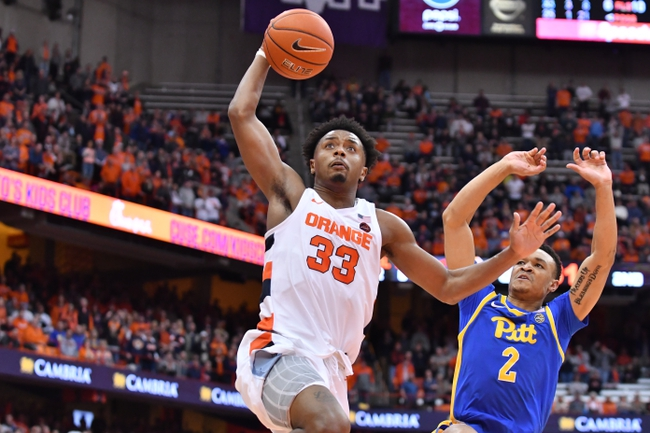 Pittsburgh vs. Syracuse - 2/26/20 College Basketball Pick, Odds, and Prediction