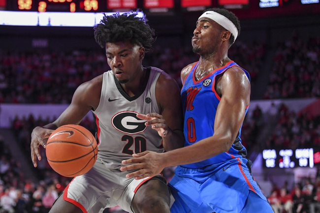Georgia at Mississippi - 3/11/20 College Basketball Picks and Prediction