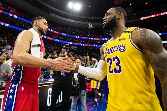 Los Angeles Lakers vs. Philadelphia 76ers - 3/3/20 NBA Pick, Odds, and Prediction