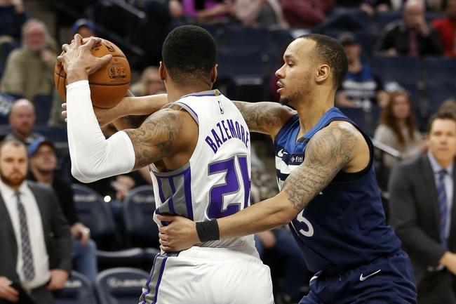 Sacramento Kings vs. Minnesota Timberwolves - 2/3/20 NBA Pick, Odds, and Prediction