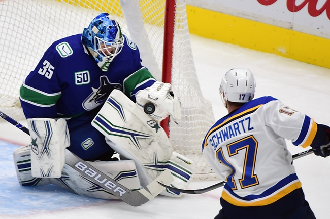 St. Louis Blues vs. Vancouver Canucks - 8/12/20 NHL Pick, Odds, and Prediction