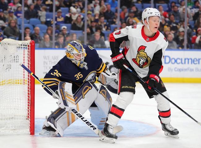 Ottawa Senators vs. Buffalo Sabres - 2/18/20 NHL Pick, Odds & Prediction