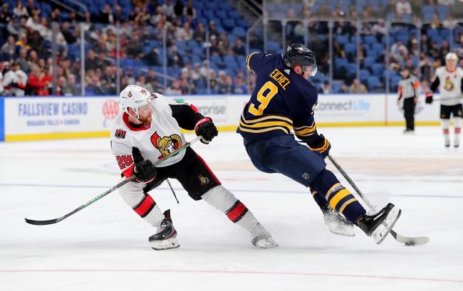 Ottawa Senators vs. Buffalo Sabres - 2/18/20 NHL Pick, Odds, and Prediction