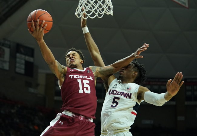 Temple vs. Connecticut - 2/20/20 College Basketball Pick, Odds, and Prediction