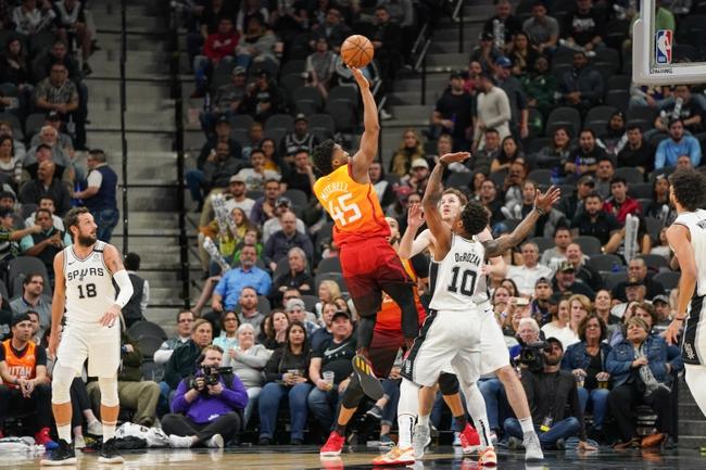 Utah Jazz vs. San Antonio Spurs - 2/21/20 Nba Pick, Odds & Prediction