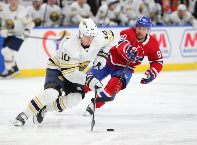 Buffalo Sabres at Montreal Canadiens - 3/12/20 NHL Picks and Prediction