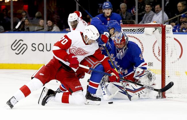 Detroit Red Wings vs. New York Rangers - 2/1/20 NHL Pick, Odds & Prediction