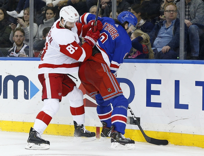 Detroit Red Wings vs. New York Rangers - 2/1/20 NHL Pick, Odds, and Prediction