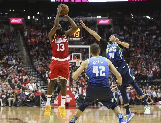 Houston Rockets at Dallas Mavericks - 7/31/20 NBA Picks and Prediction
