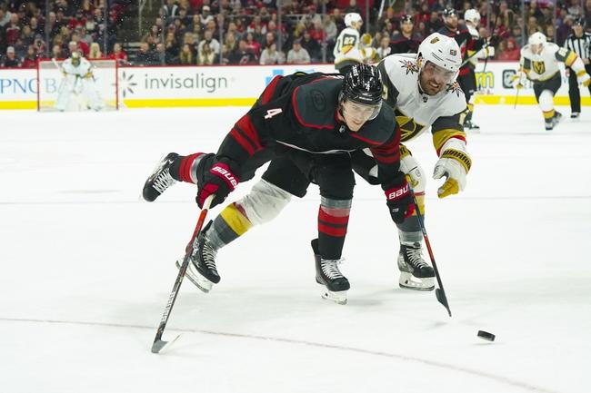 Vegas Golden Knights vs. Carolina Hurricanes - 2/8/20 NHL Pick, Odds, and Prediction