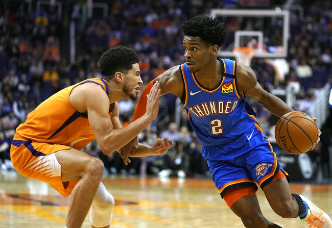 Phoenix Suns vs. Oklahoma City Thunder - 8/10/20 NBA Pick, Odds, and Prediction