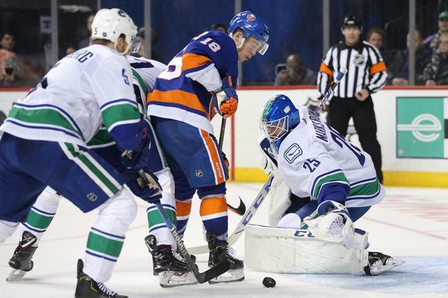 Vancouver Canucks vs. New York Islanders - 3/10/20 NHL Pick, Odds, and Prediction