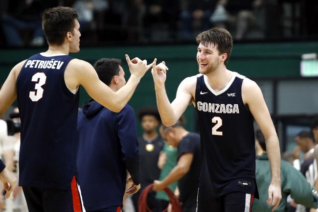 Gonzaga vs. San Francisco - 2/20/20 College Basketball Pick, Odds, and Prediction