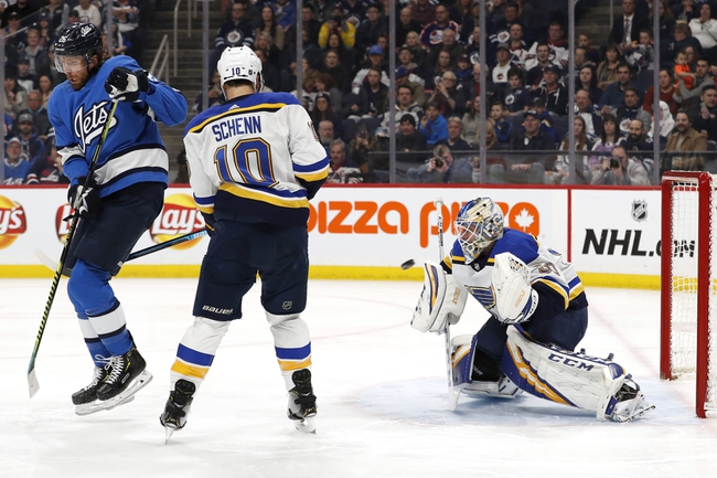 St. Louis Blues vs. Winnipeg Jets - 2/6/20 NHL Pick, Odds, and Prediction
