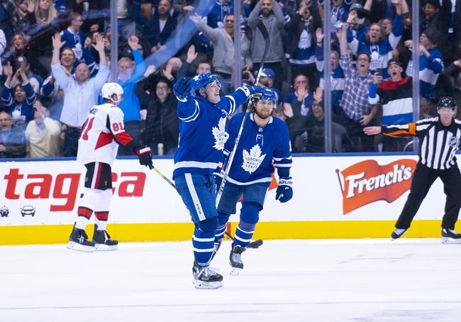 Ottawa Senators vs. Toronto Maple Leafs - 2/15/20 NHL Pick, Odds, and Prediction