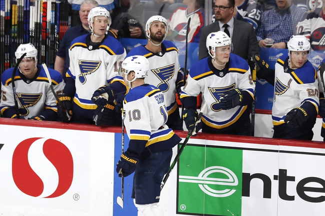 St. Louis Blues vs. Winnipeg Jets - 2/6/20 NHL Pick, Odds & Prediction