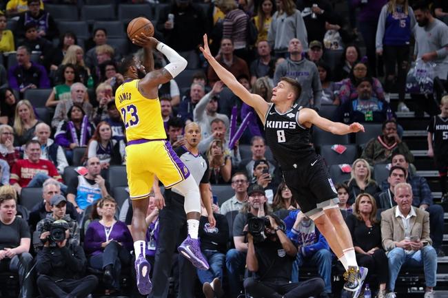 Sacramento Kings at Los Angeles Lakers - 8/13/20 NBA Picks and Prediction