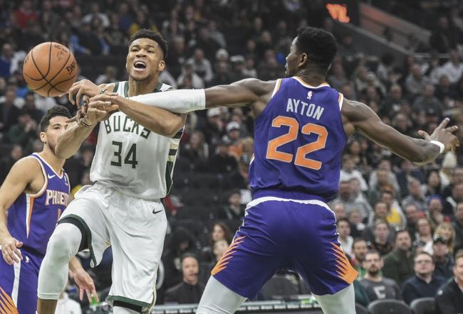 Phoenix Suns vs. Milwaukee Bucks - 3/8/20 NBA Pick, Odds, and Prediction