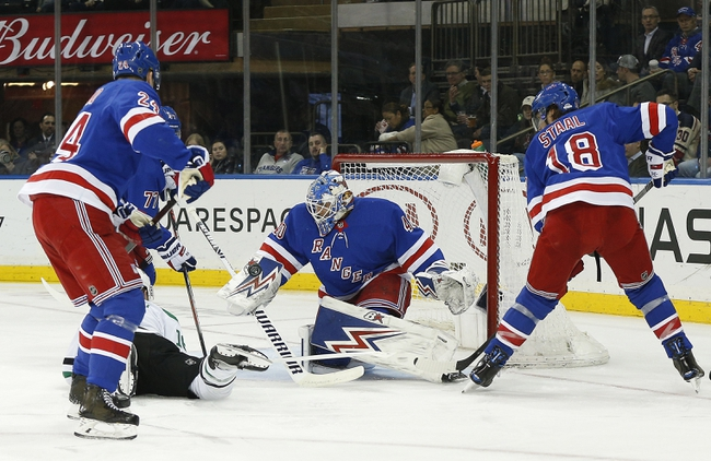 New York Rangers at Dallas Stars - 3/10/20 NHL Picks and Prediction