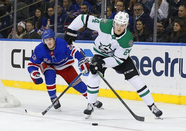 Dallas Stars vs. New York Rangers - 3/10/20 NHL Pick, Odds, and Prediction