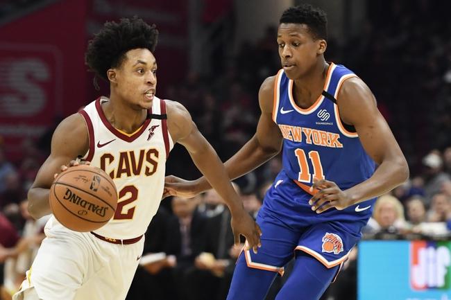 New York Knicks vs. Cleveland Cavaliers NBA Picks, Odds, Predictions 12/16/20