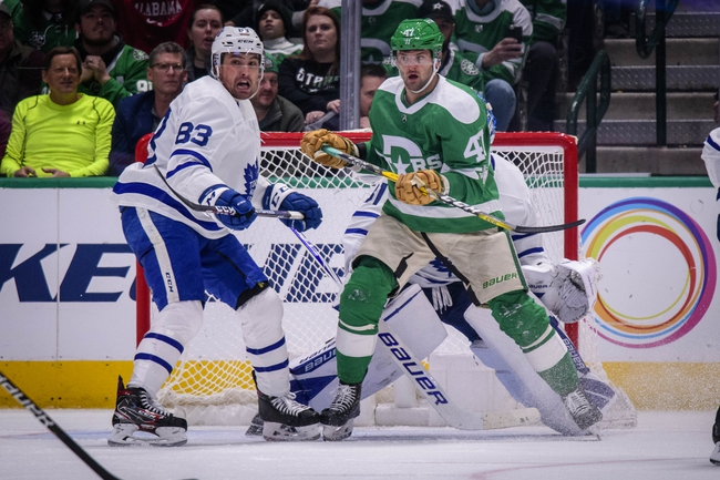 Toronto Maple Leafs vs. Dallas Stars - 2/13/20 NHL Pick, Odds, and Prediction