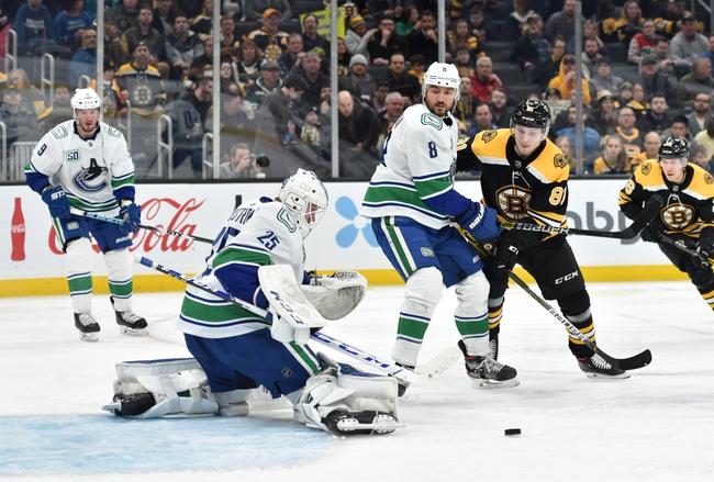Vancouver Canucks vs. Boston Bruins - 2/22/20 NHL Pick, Odds, and Prediction