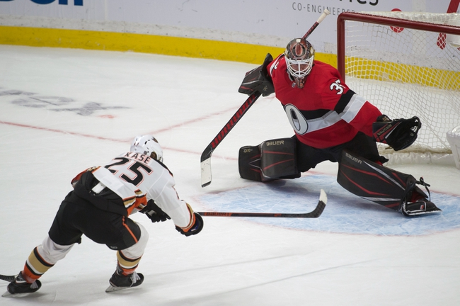 Ottawa Senators at Anaheim Ducks - 3/10/20 NHL Picks and Prediction