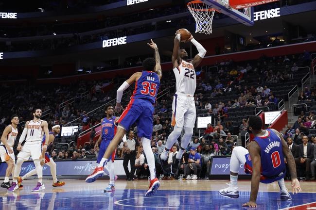Phoenix Suns vs. Detroit Pistons - 2/28/20 NBA Pick, Odds, and Prediction