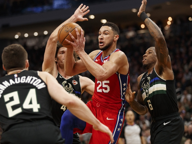 Milwaukee Bucks vs. Philadelphia 76ers - 2/22/20 NBA Pick, Odds, and Prediction