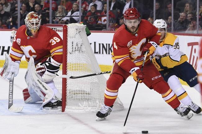Nashville Predators vs. Calgary Flames - 2/27/20 NHL Pick, Odds, and Prediction