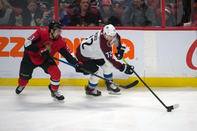 Colorado Avalanche vs. Ottawa Senators - 2/11/20 NHL Pick, Odds, and Prediction