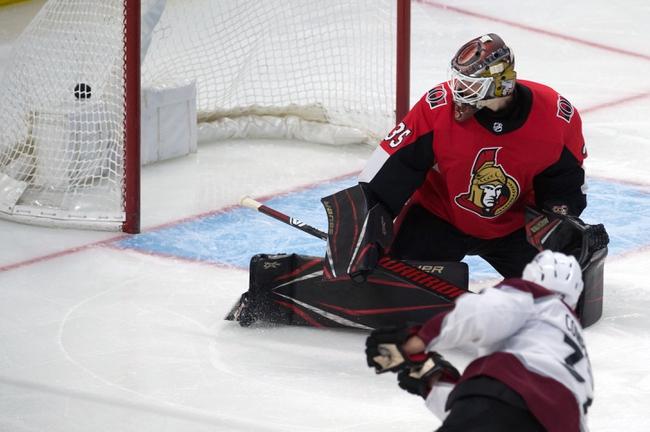 Colorado Avalanche vs. Ottawa Senators - 2/11/20 NHL Pick, Odds & Prediction