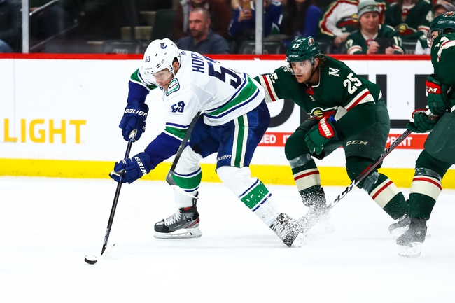 Vancouver Canucks vs. Minnesota Wild - 2/19/20 NHL Pick, Odds, and Prediction