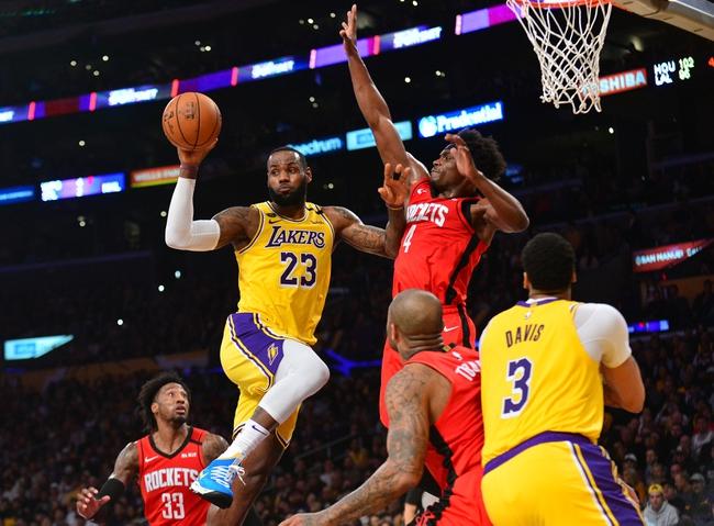 Houston Rockets vs. Los Angeles Lakers - 8/6/20 NBA Pick, Odds, and Prediction