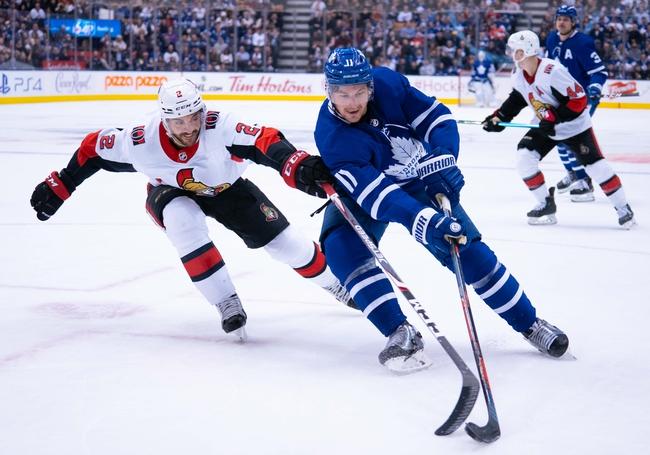 Ottawa Senators vs. Toronto Maple Leafs - 2/15/20 NHL Pick, Odds & Prediction