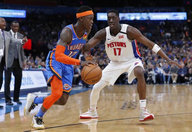 Detroit Pistons vs. Oklahoma City Thunder - 3/4/20 NBA Pick, Odds, and Prediction